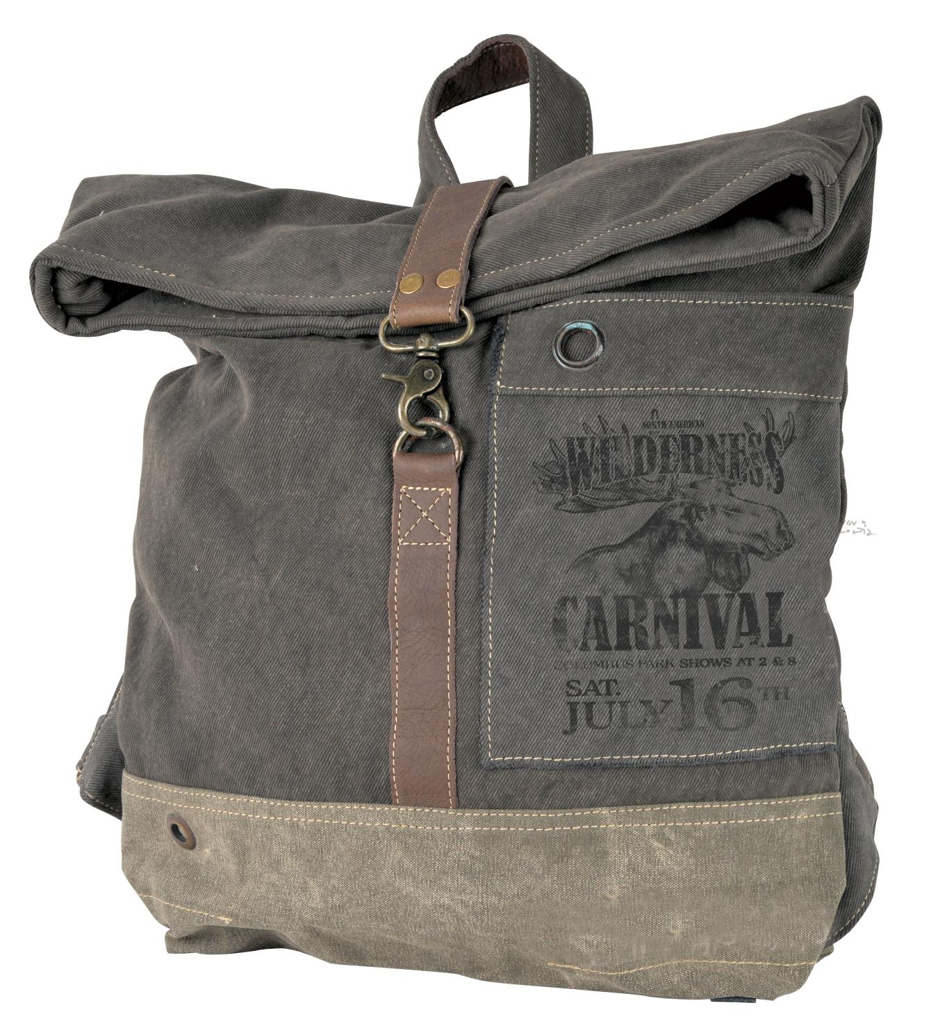 Wilderness Carnival Flap Over Backpack