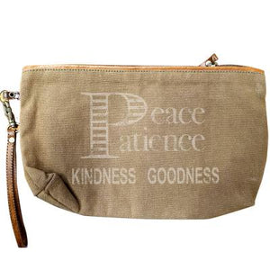 Peace Patience Kindness Clutch