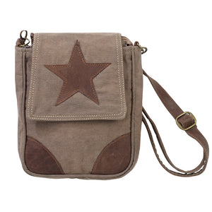 Star Military Green Shoulder Bag