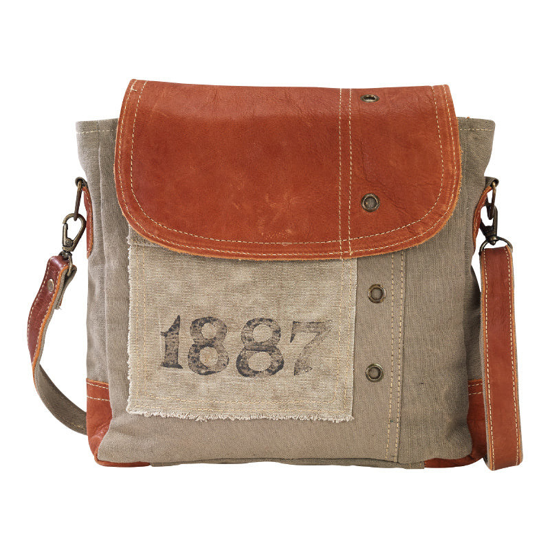 1887 Leather Shoulder Bag