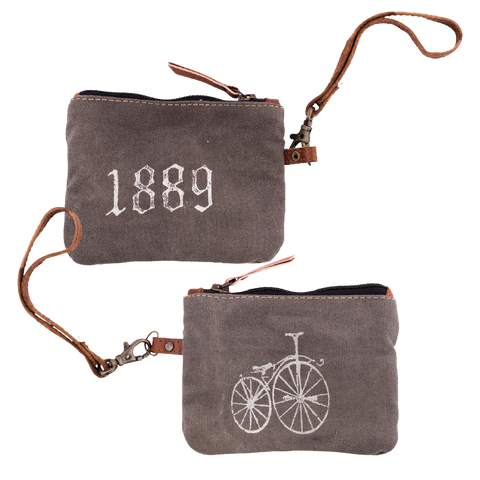 1889 Bicycle Coin Purse