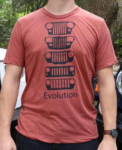 JEEP Evolution Clay Tee
