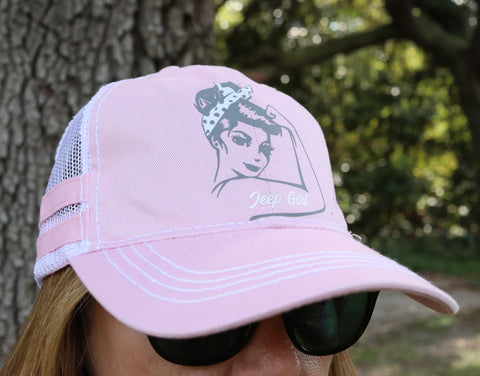 Rosie Jeep Girl Hat
