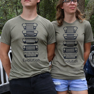JEEP Evolution Unisex Tee