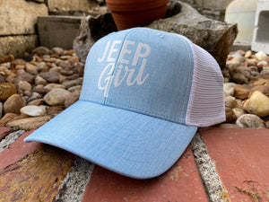 Jeep Girl Trucker Cap