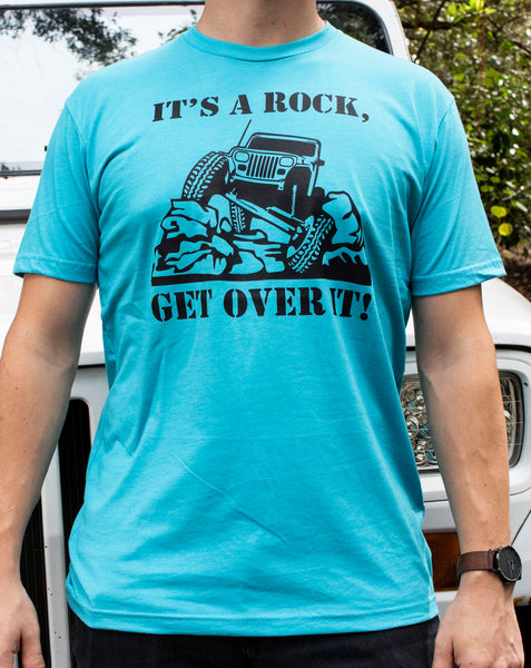 It's a Rock, Get over It! Unisex Adult tee
