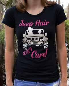 Jeep Hair Don't Care Scoop Tee
