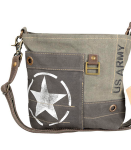Army Star Crossbody Bag