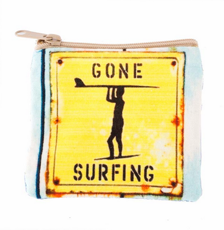 Gone Surfing Coin Purse