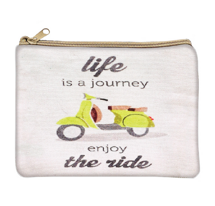 Life is a Journey Cosmetic Bag