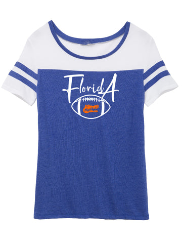 Florida Football Ladies Varsity Tee