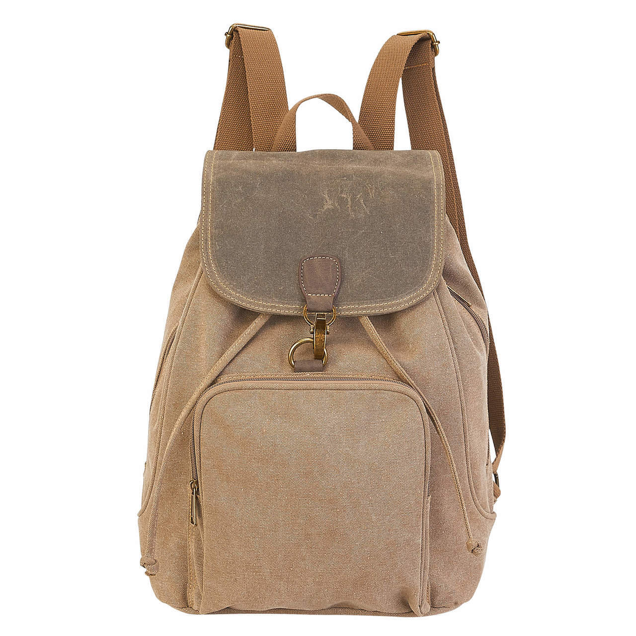 Rustic Flap Over Backpack