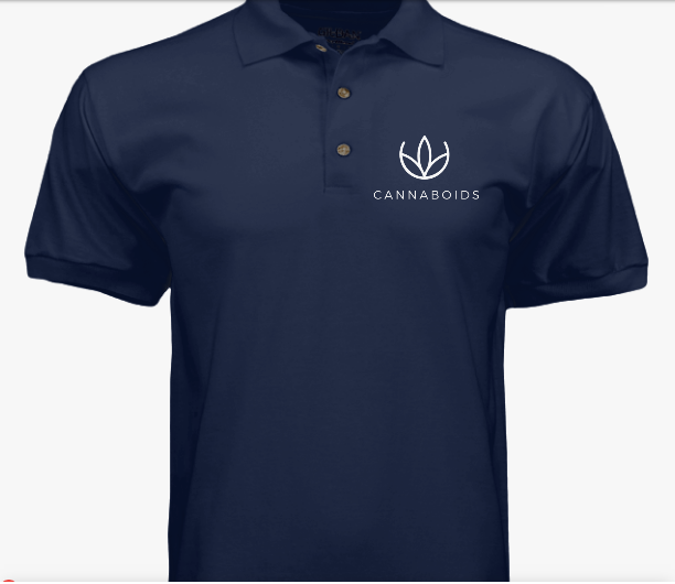 Men's Cannaboids Polo Shirt