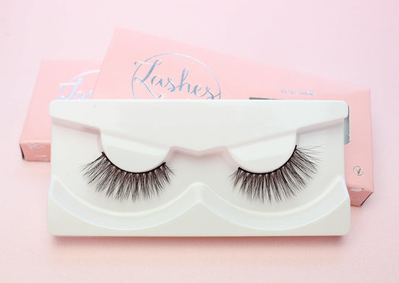 Faux Mink Lashes - Basic (Black Band)