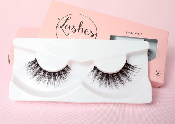 Faux Mink Lashes - Minx (Black Band)