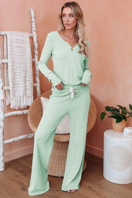 Long Sleeve and Pants Lounge wear