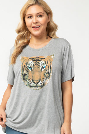 Load image into Gallery viewer, TIGER T-SHIRT PLUS