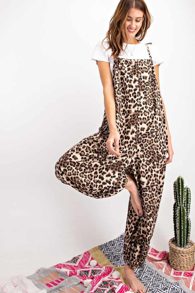 Load image into Gallery viewer, Leopard Print Romper