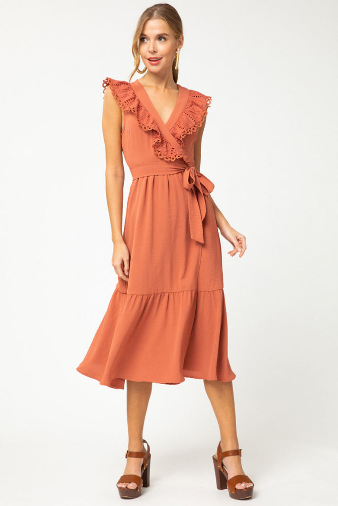 Ruffled Maci Dress