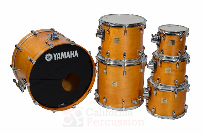 Yamaha Absolute Maple Drum Set Rental - Vintage Natural