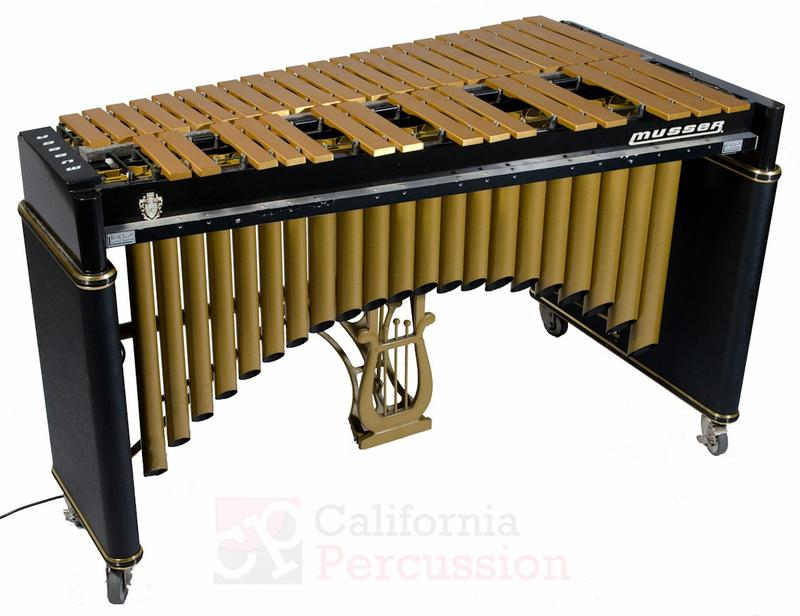 Musser M75 Century Vibraphone with K&K pickups