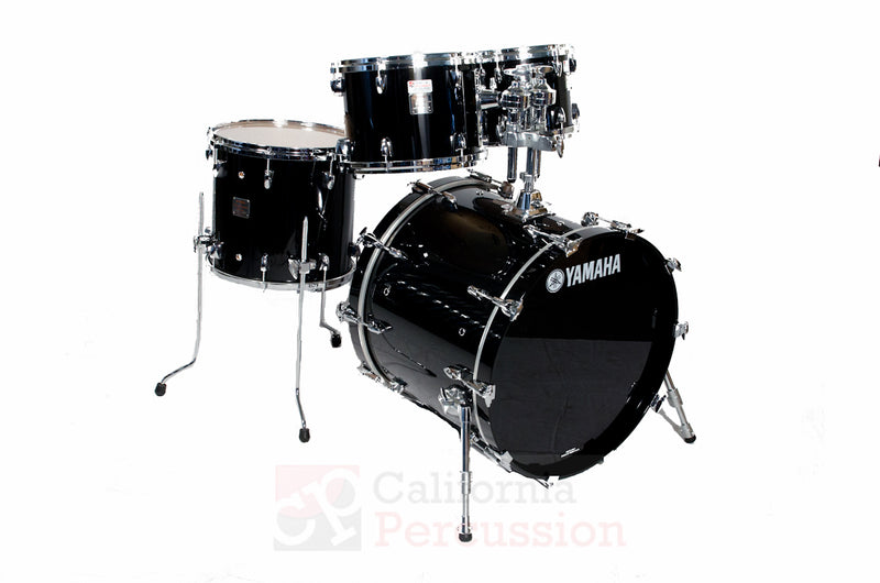 Yamaha Birch Absolute Drum Set Rental - Piano Black