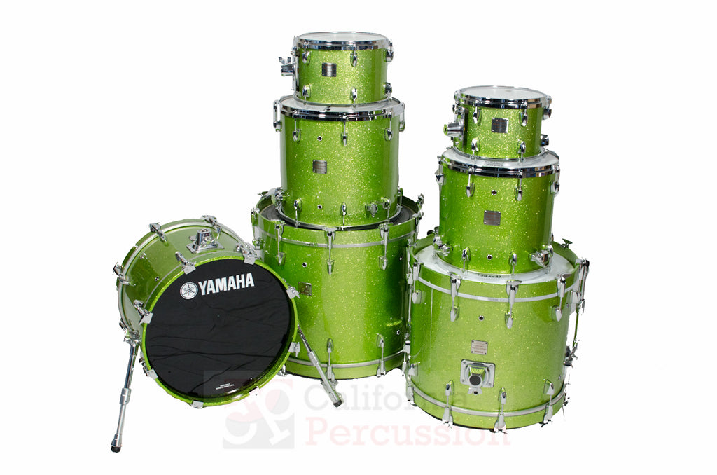 Yamaha Absolute Maple Drum Set Rental - White Grape Sparkle
