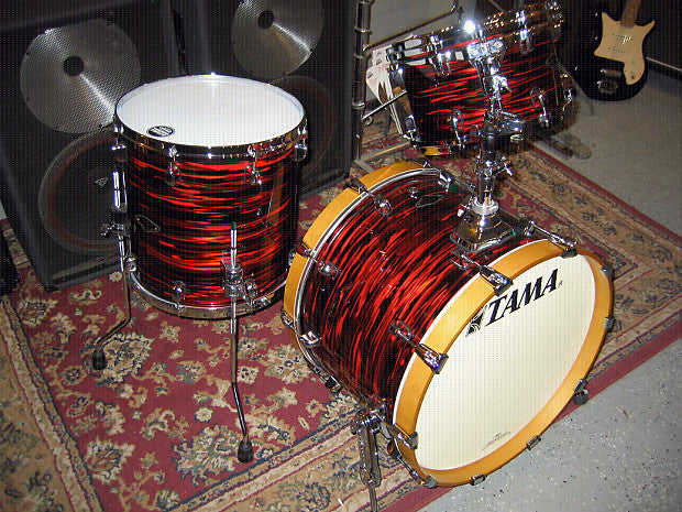 Tama StarClassic Drum Set Rental - Red Oyster Pearl