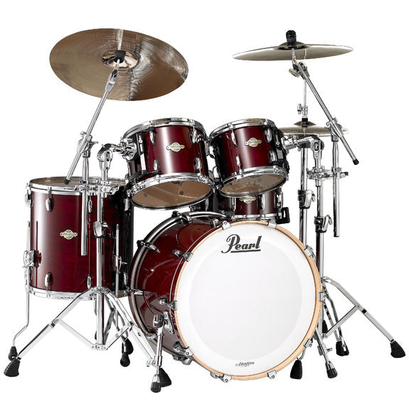 Pearl MCX Masters Drum Set Rental - Vintage Wine