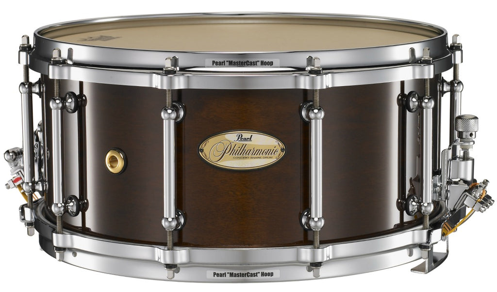 Snare Drum Rental - Pearl Philharmonic 6.5 x 14 Solid Maple