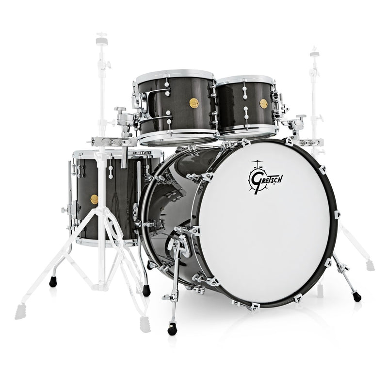 Gretsch New Classic Drum Set Rental - Black Galaxy Sparkle