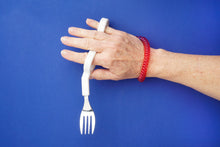 Adult Special Needs, Adaptive Fork and Spoon Set; SN-3 (Right Handed)