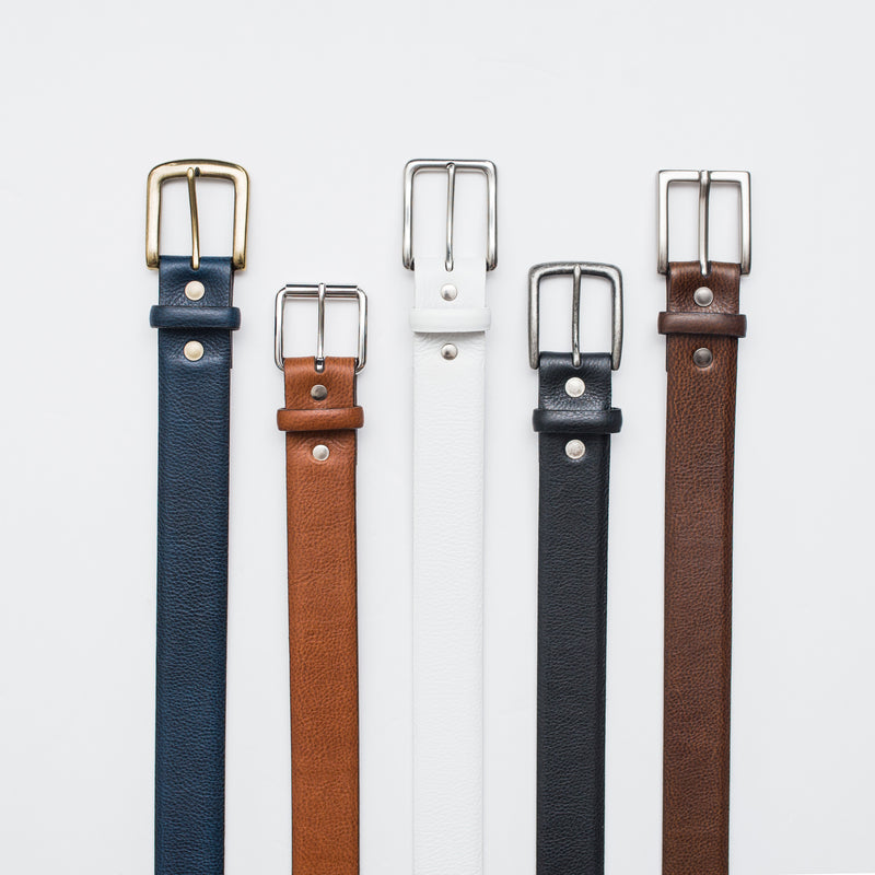 Navy - Dress Belt