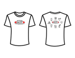 CSW School Shirt - 01 - White - Red Logo