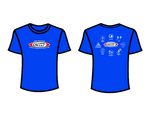 CSW School Shirt - 05 - Blue - Red Logo