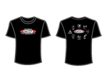 CSW School Shirt - 10 - Black - Red Logo
