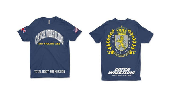 Catch Wrestling T-Shirt - Blue
