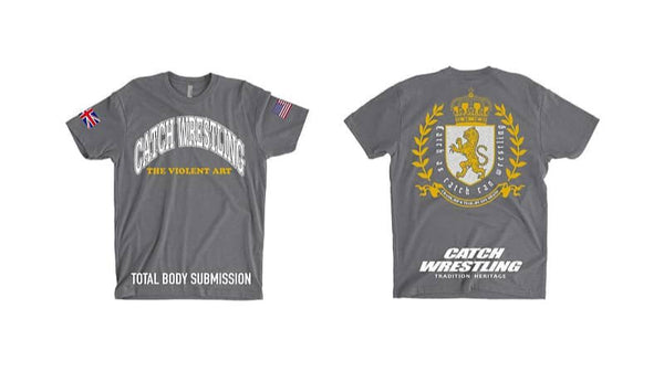 Catch Wrestling T-Shirt - Gray