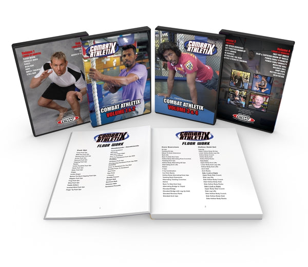 DVD - Combat Athletix - 4 DVD Set