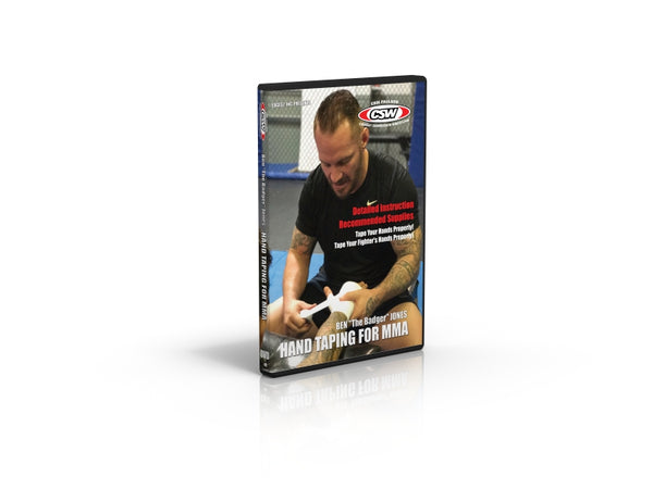 DVD - Hand Taping For MMA