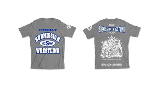 Submission Wrestling T-Shirt - Gray