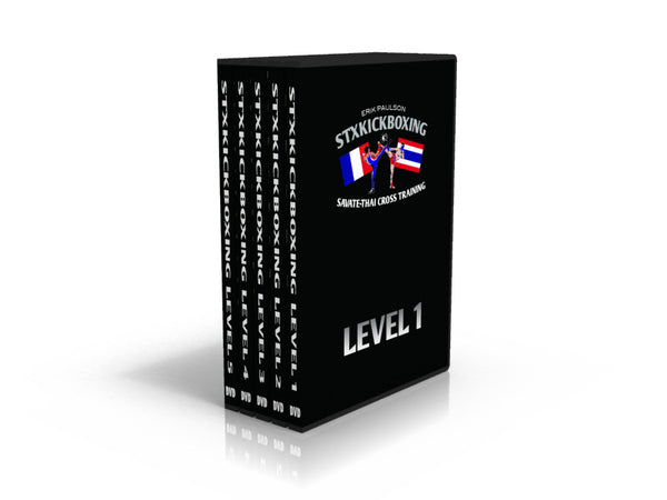 DVD - STXKICKBOXING Levels 1 - 5