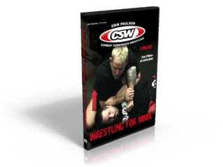 DVD - Wrestling For MMA - 2 DVD Set