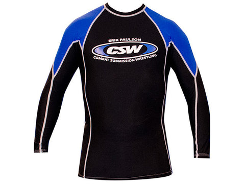 Rash Guard - CSW Long Sleeve - Blue