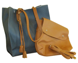 Two bags in one - Tote and Messenger