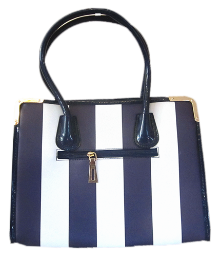 Stripe Tote Bag - Blue
