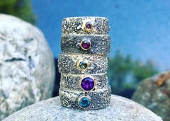 Moondust Ring stack