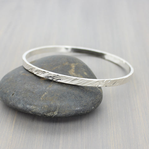 Northwind Forged Bangle