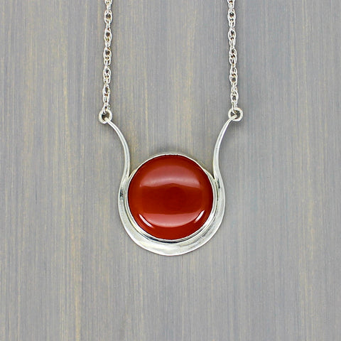 Goddess Isis Sun Disc Necklace