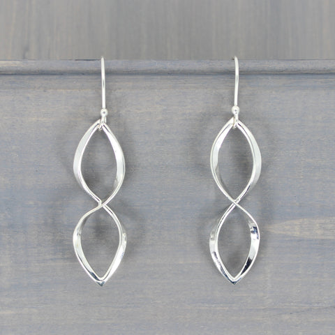 Open Helix Earrings